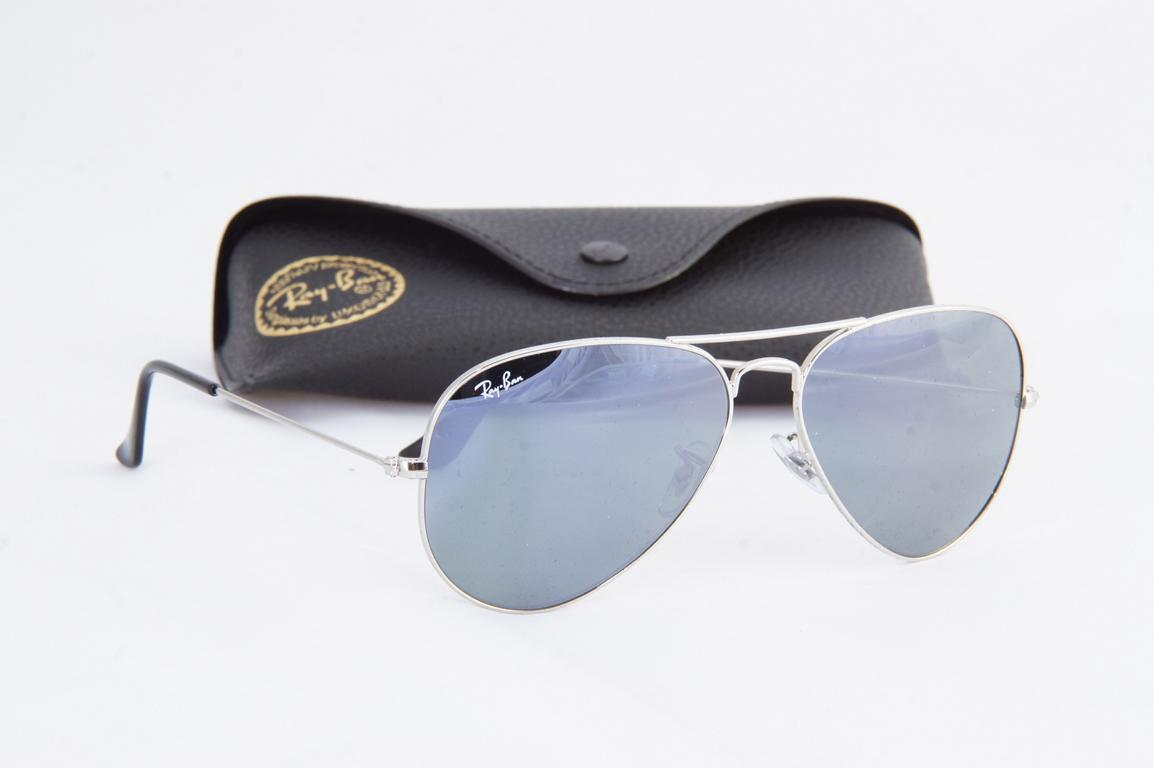 ray ban aviator sunglasses silver mirror 3025 w3277