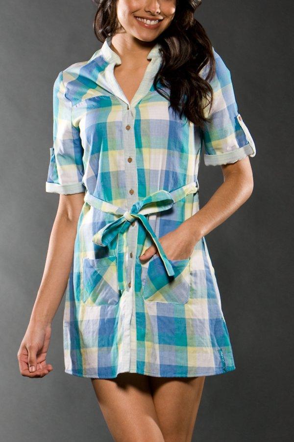 Oakley - Falling Tide Dress Kleid / Neo Viridian
